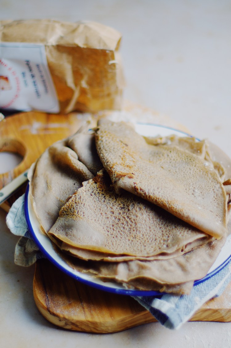 recette de galettes de sarrasin