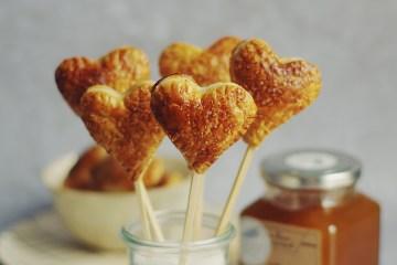 recettes de sucettes coeur pour la saint valentin