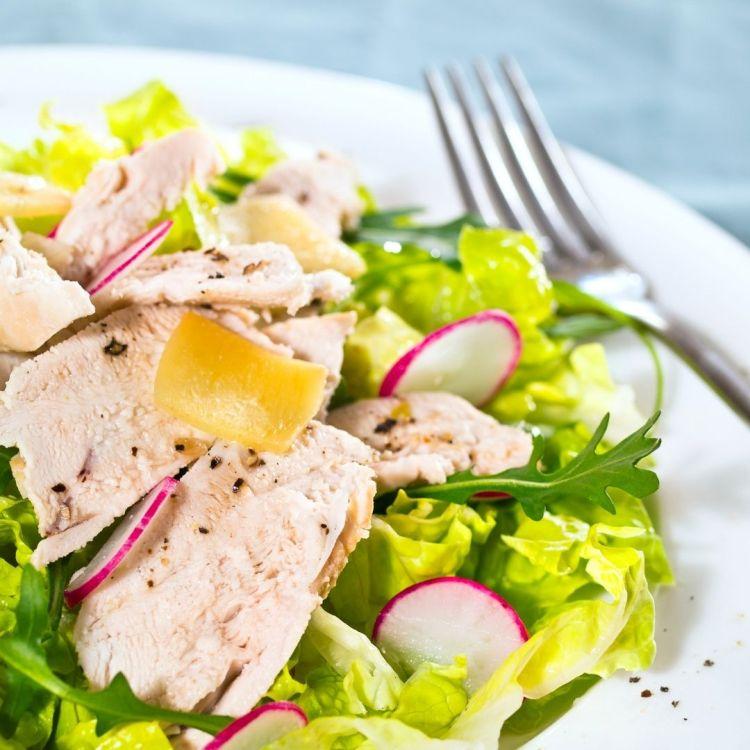 salade detox gingembre citron