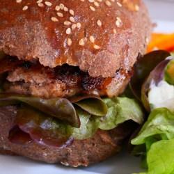 recette pain à burger à la farine de drêche