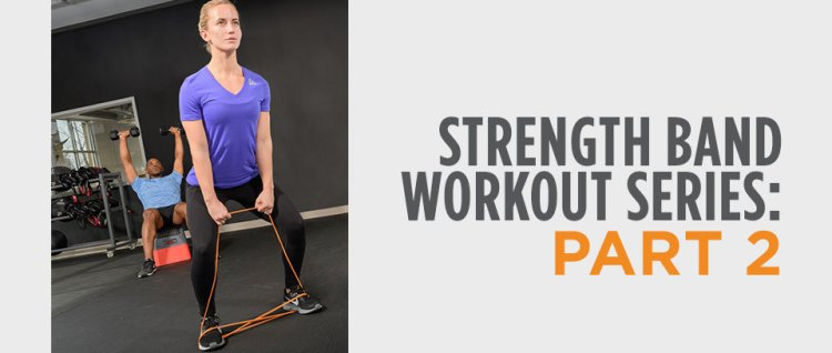 Strength band workout