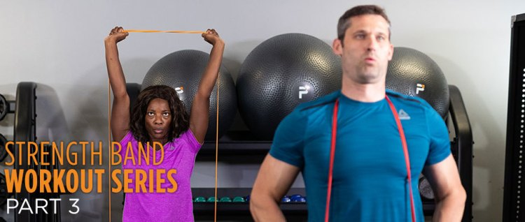 Strength band workout series part 3 - Power Systems
