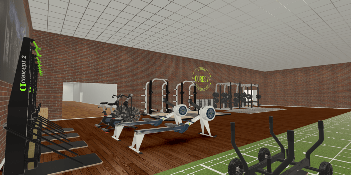 Facility Design 3D Rendering - Power Systems