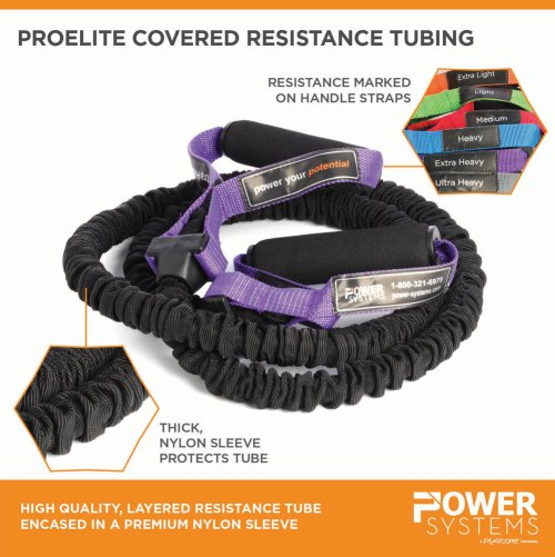 ProElite covered resistance tube - Power Systems