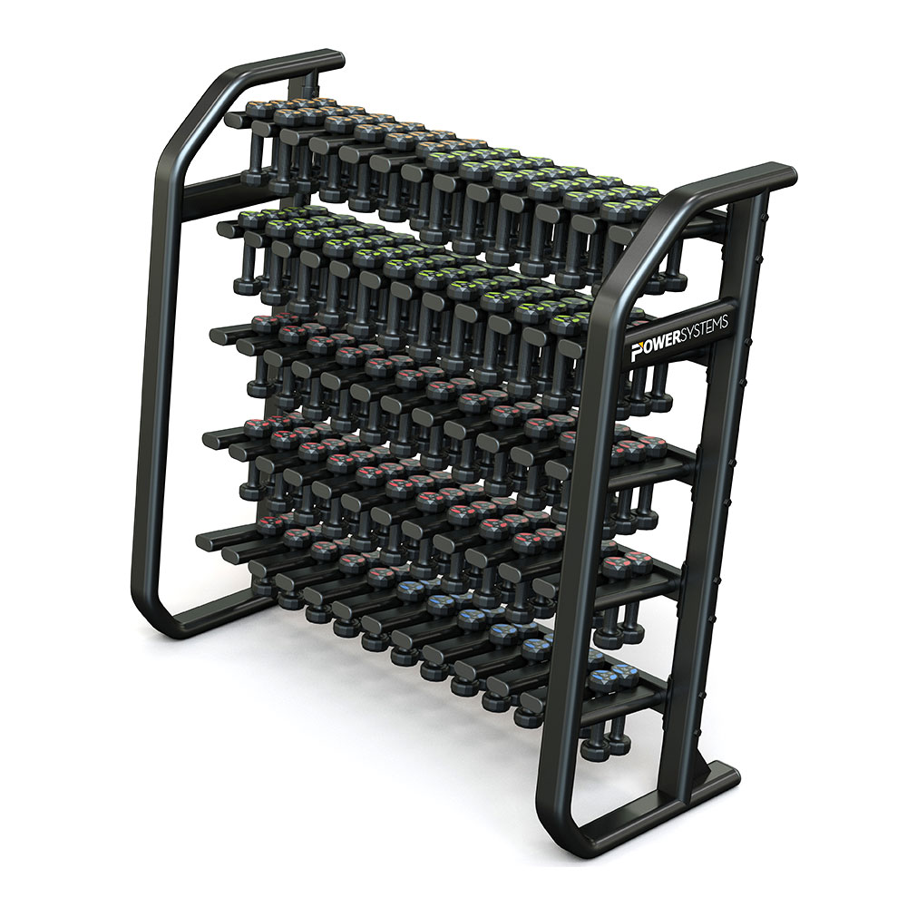 Denali Vertical Dumbbell Rack - Power Systems