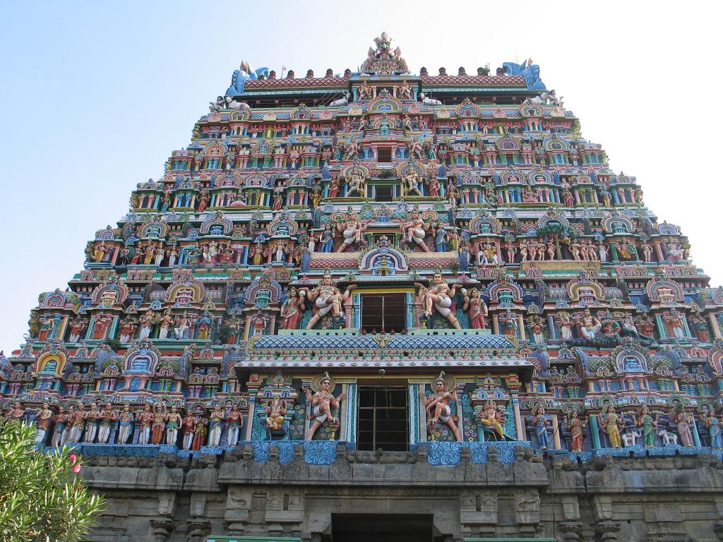 Chidambaram Temple, TamilNadu, India Flickr@Fovea Centralis