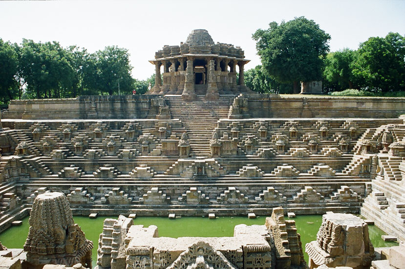 The Sun Temple in Modhera - Gujarat