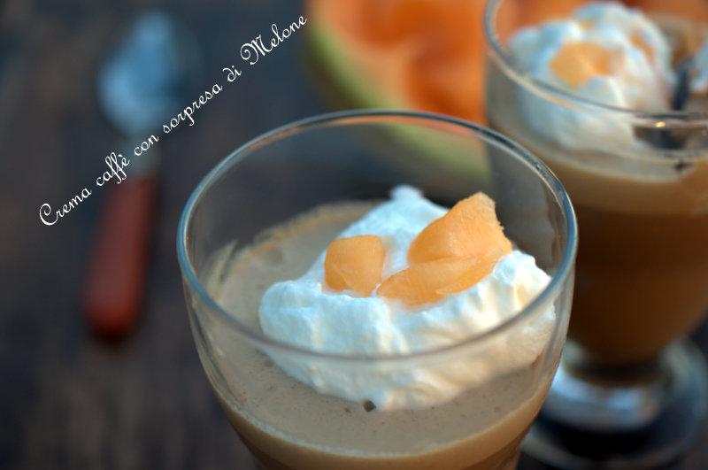 Crema caffè con sorprese di Melone