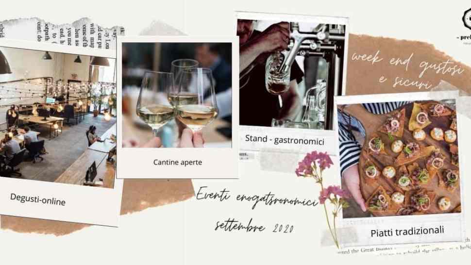 Eventi enogastronomici in Italia a Settembre 2020