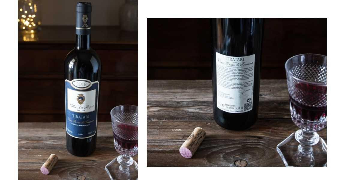 Tiratari vino rosso di Villa La Ripa