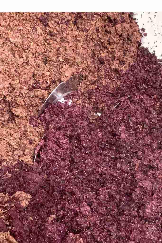 Vinacce per la preparazione della grappa