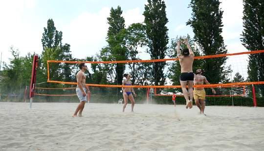 Junior Club Rastignano foto campo beach volley