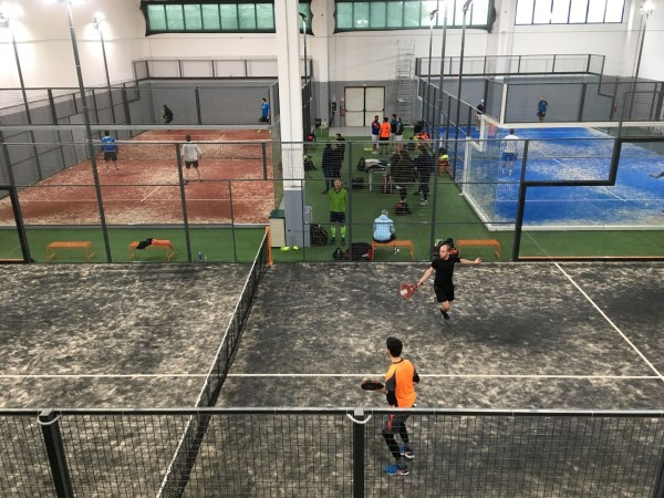 giocare a padel a Milano Padel Factory