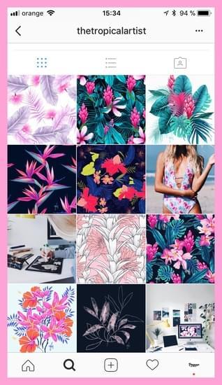 Creer een coherente Instagram uistraling met een visuele planner voor Instagram