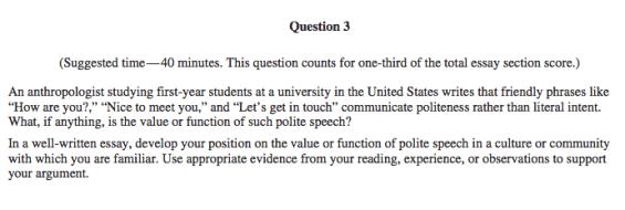 ap essay examples