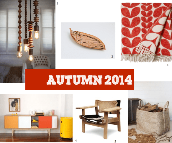 Autumn 2014 interiors trend