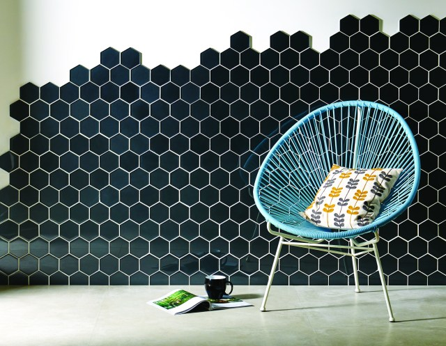 Original Style - Glassworks - Hera Hexagon mosaics