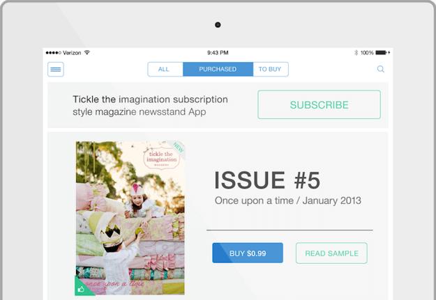 PressPad iOS7 mobile app
