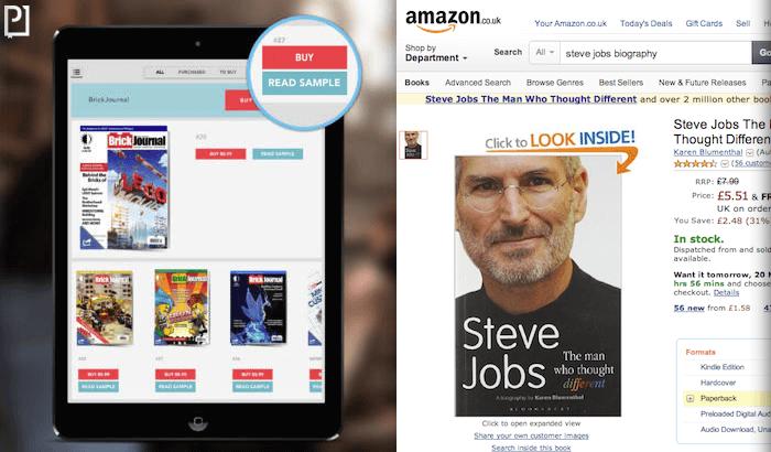 Sell digital magazine Amazon way