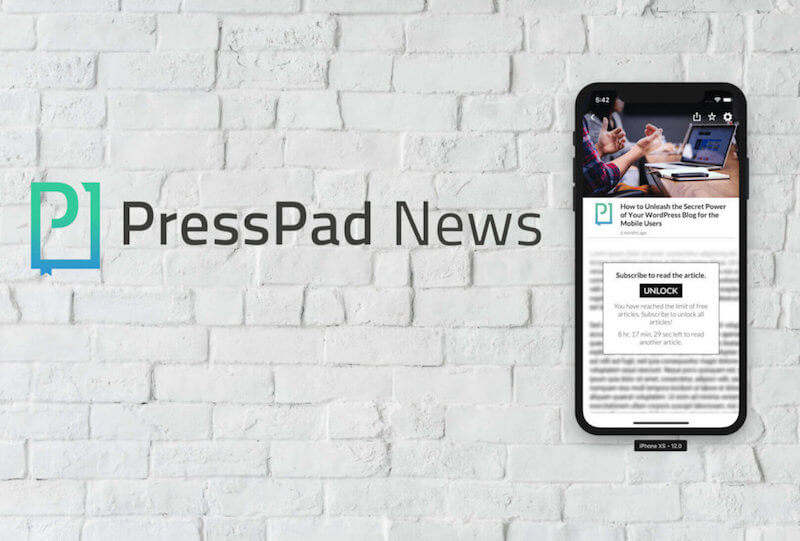 PressPad Paywall Model - new possibility to monetize content for newspapers publishers