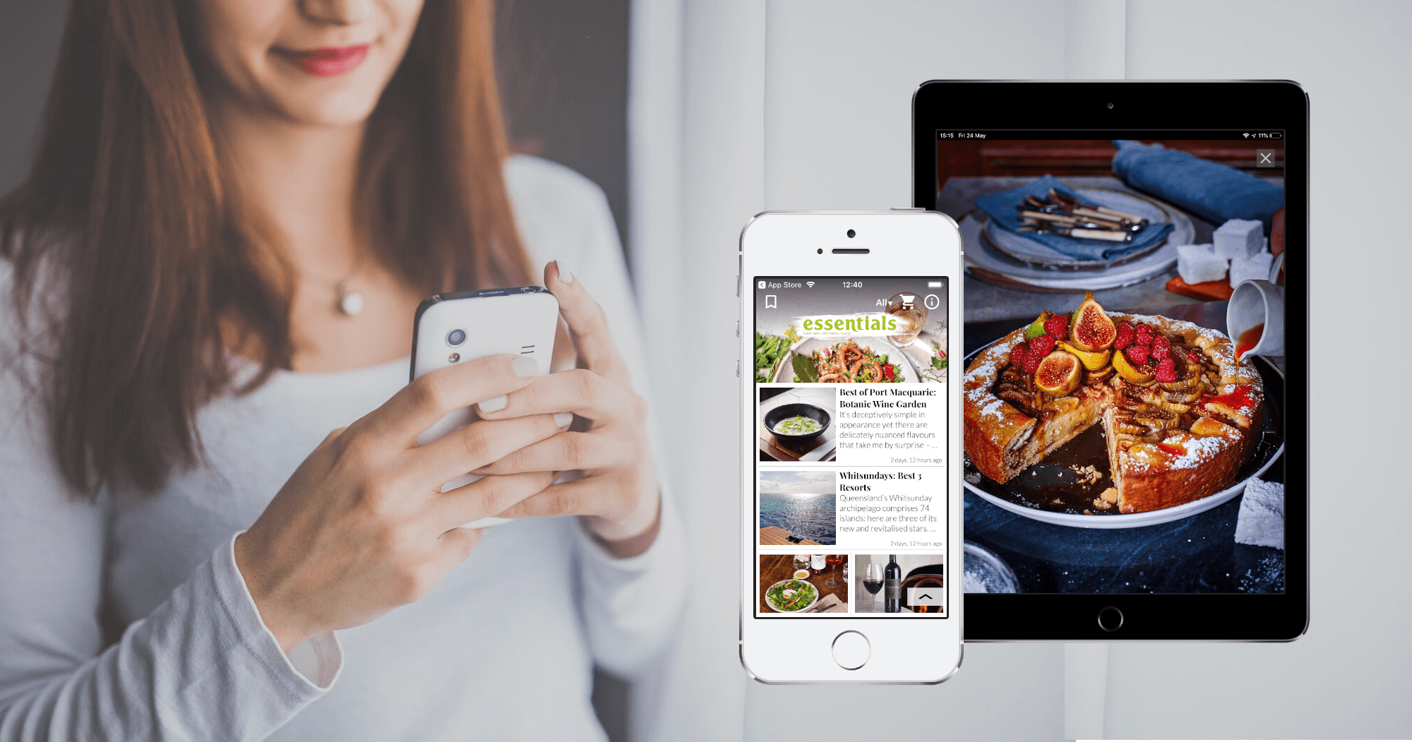 News App Themes for Magazine Publishers from PressPad