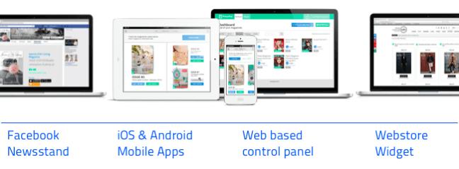 Digital publishing platform - PressPad