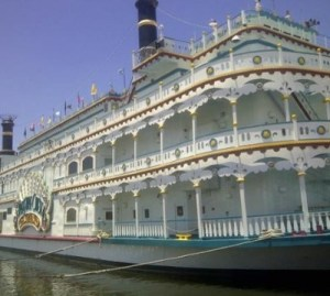 Louisiana riverboat casino gambling on land