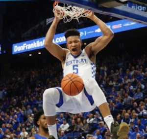 2018 March Madness Predictions - kevin knox