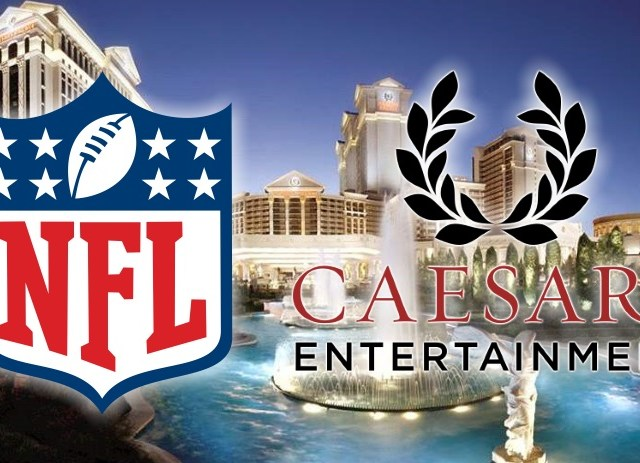 NFL entering a Sports Betting Partnership with Caesars Entertainment