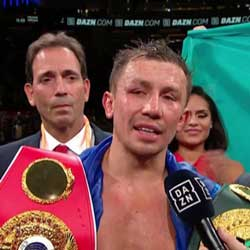 Golovkin vs Derevyanchenko Fight Results