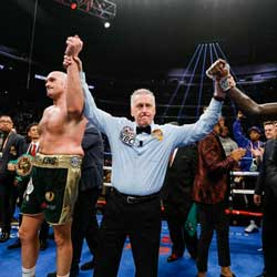 Sportsbook Boxing News – Tyson Fury Wins in Rematch against Deontay Wilder