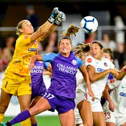 Women's Soccer is First US Pro Sport to Return
