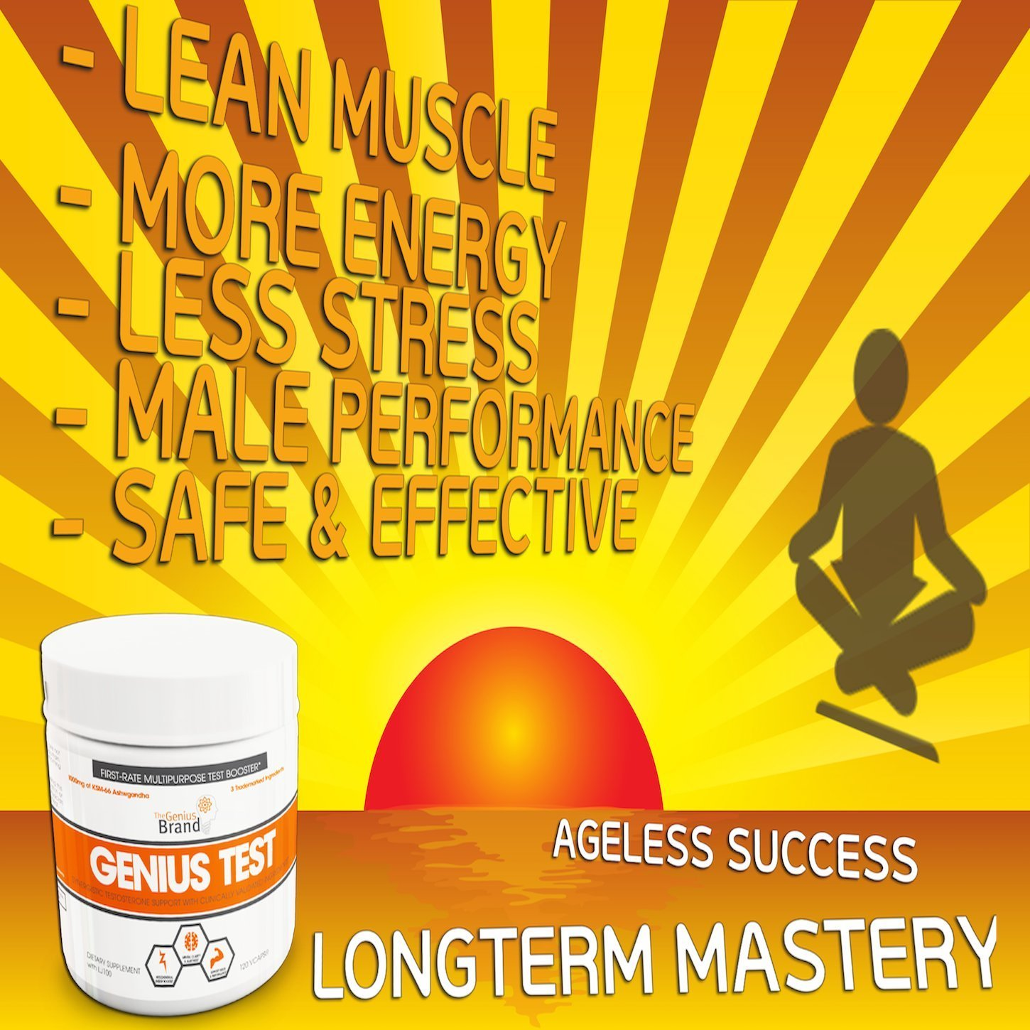 Genius Test Testosterone Support For The Smart Athlete