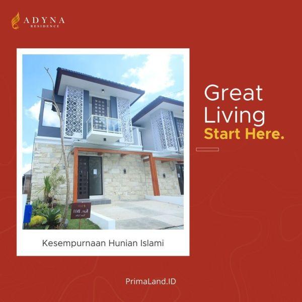prospek perumahan adyna residence 2