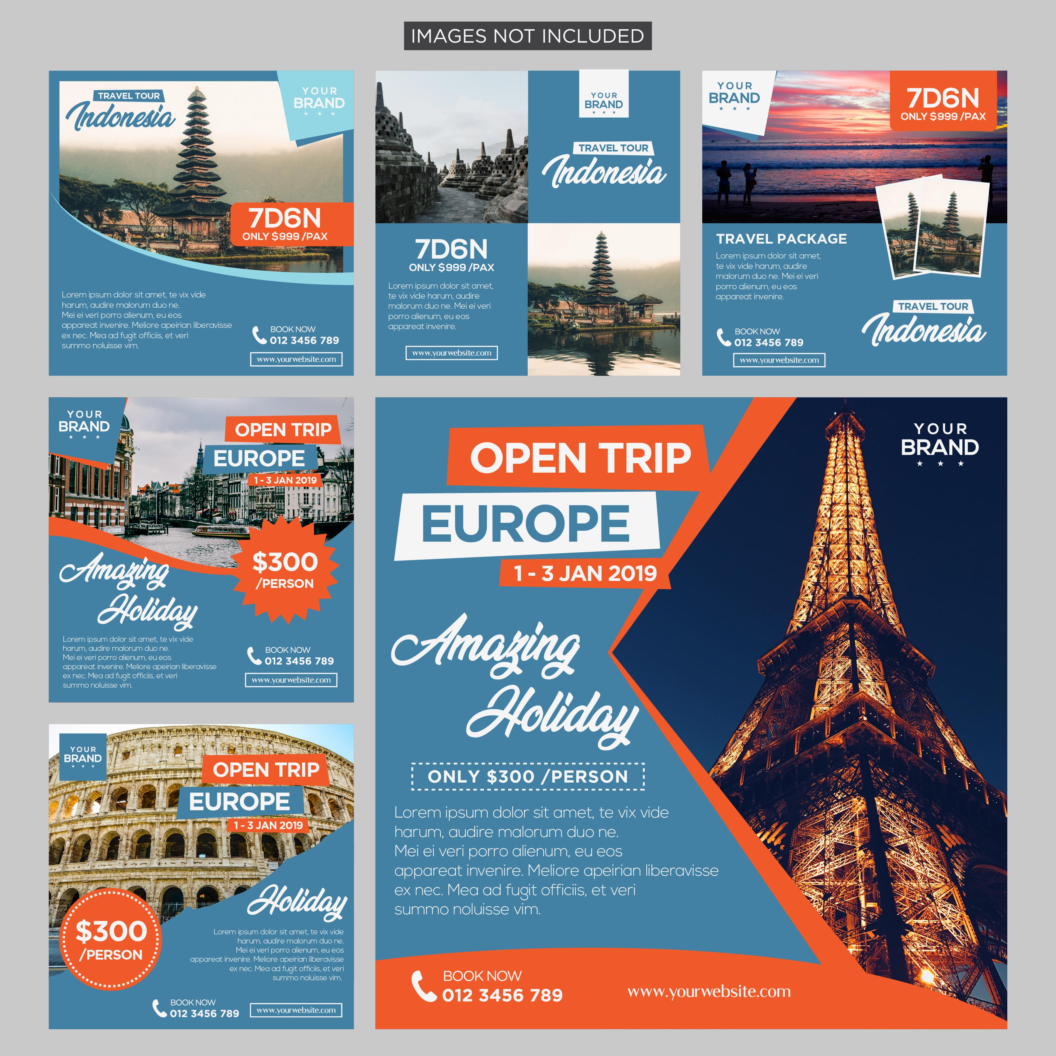 aplikasi untuk mendesain brosur travel