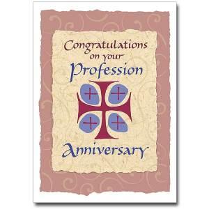 Profession Anniversary Card