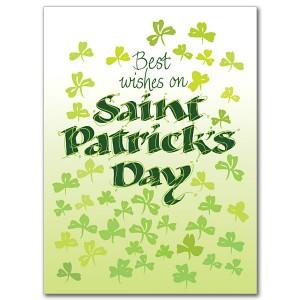 St. Patricks Day Card 1