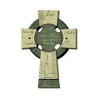 Irish Family Wall Cross