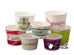 ice cream paper cups custom print wholesale supplies www.printmycup.com