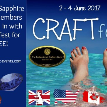 Use your FREE place at CRAFTfest!