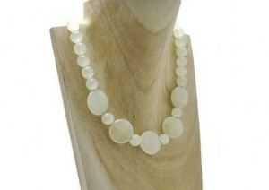 Green Bowenite Jade Coins & Sterling Silver Necklace