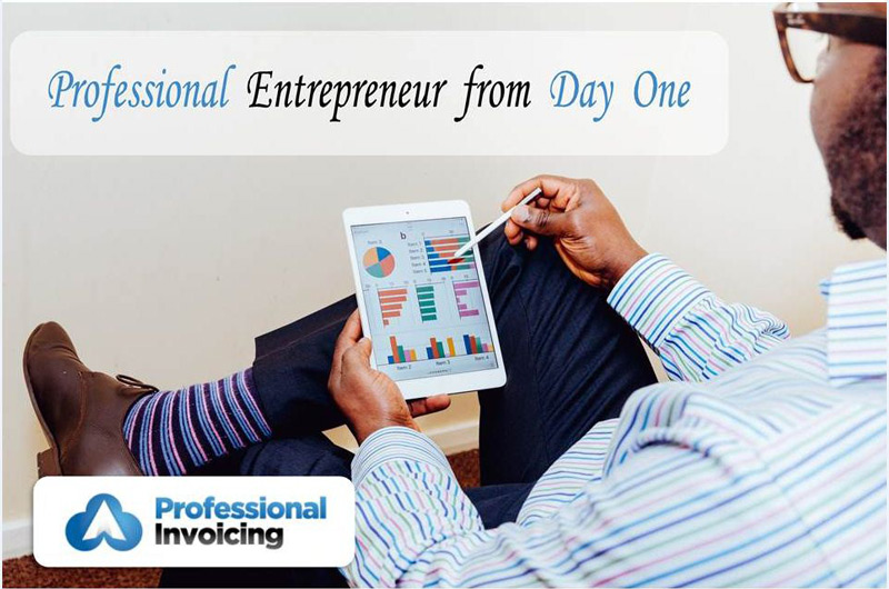 4 Ways to Show You're a Professional Entrepreneur from Day One