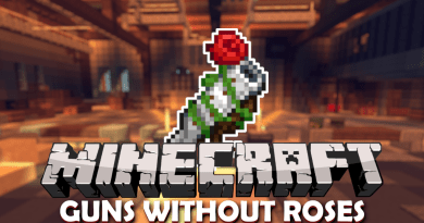 Pistolety w Minecraft | Guns without Roses