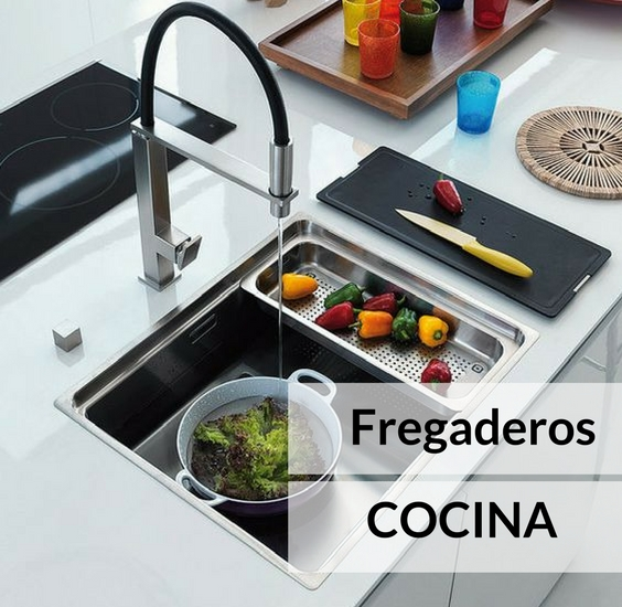 Fregadero de cocina c mo elegir el adecuado y el estilo for Ubicacion de cocina