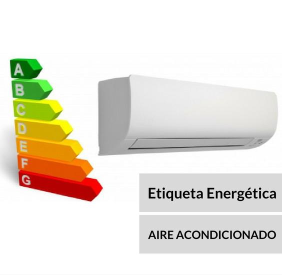 Etiqueta energética del aire acondicionado