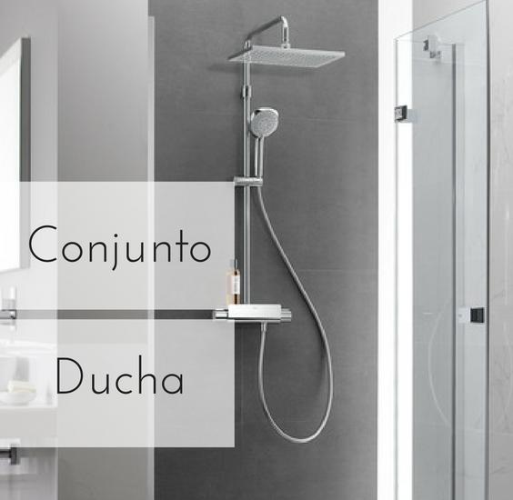 Conjunto de ducha para tu ba o la mejor y m s completa for Conjunto de ducha