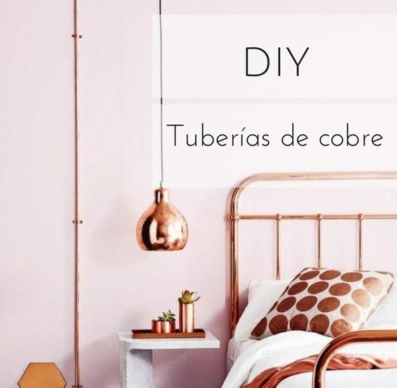 Tuber as de cobre recicla decora y hazlo t mismo diy - Tuberias de cobre ...
