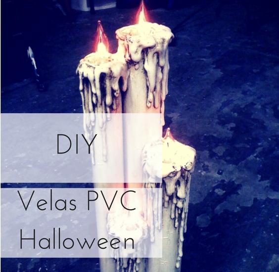 velas pvc para Halloween
