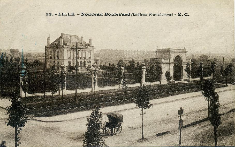 Cité Franchomme - Château
