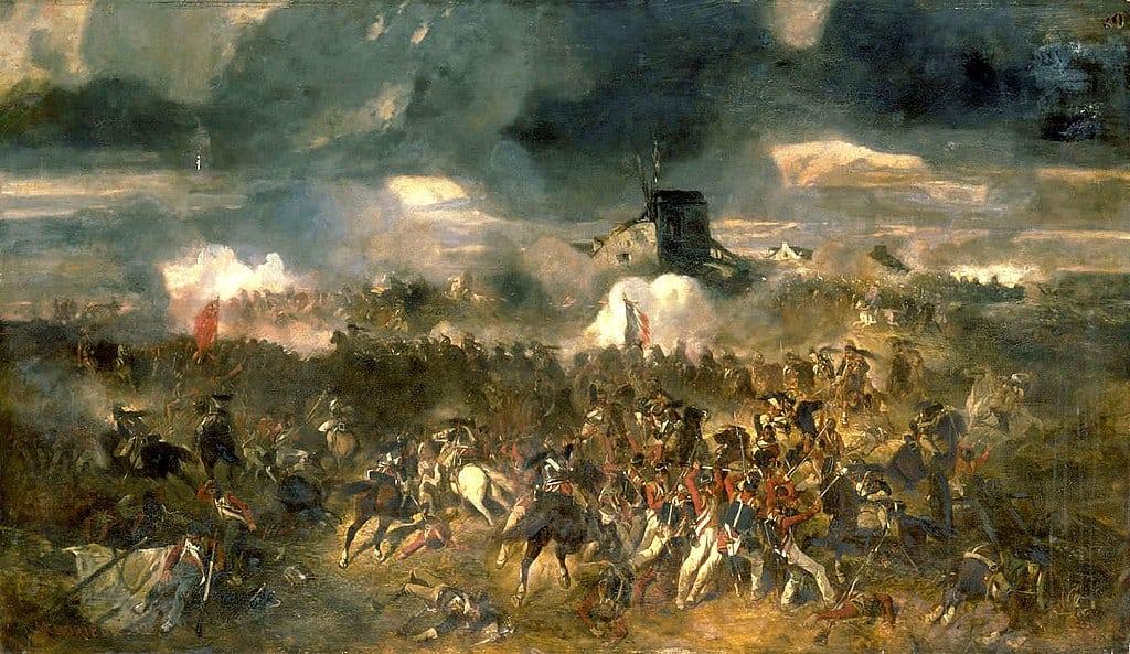 Bataille de Waterloo - guerres Napoléoniennes